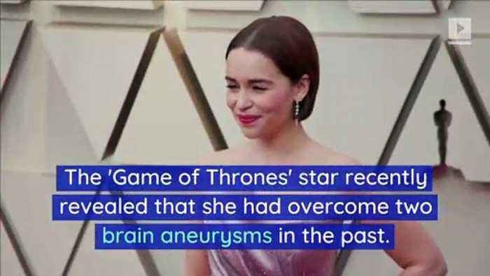 Emilia Clarke Thanks Supportive Fans After Aneurysm Reveal