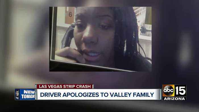Driver apologized to Valley family after deadly Las Vegas strip crash