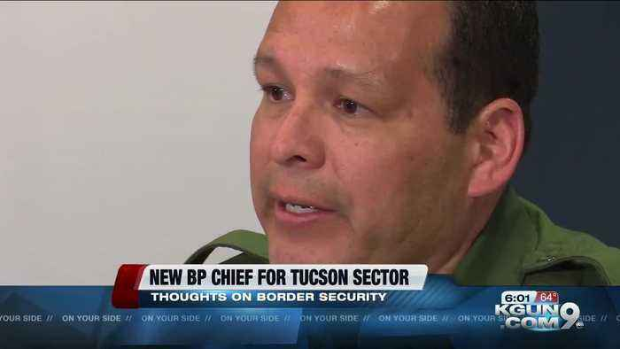 Tucson sector's new Border Patrol chief, his philosophy on border security