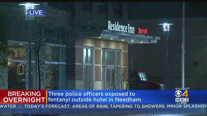 3 Needham Police Officers Hospitalized After Fentanyl Exposure