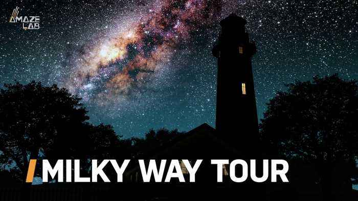Take a Virtual Tour of the Center of the Milky Way