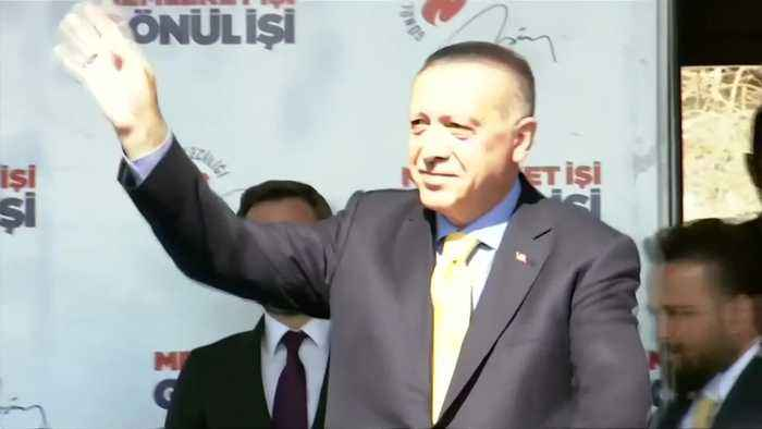 Turkey's Erdogan again shows shooting video hours after meeting with New Zealand FM
