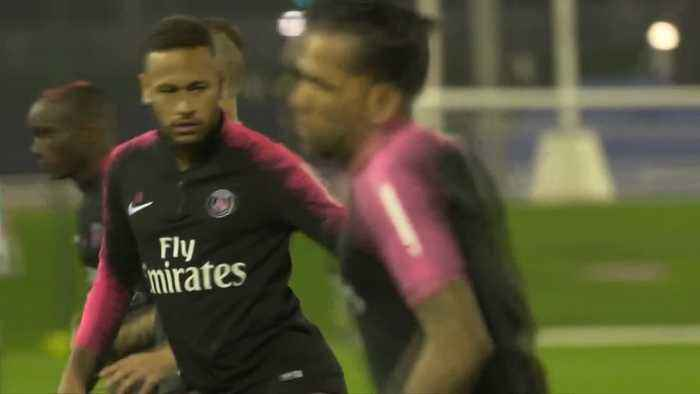 Neymar charged by UEFA for his behaviour following Champions League exit