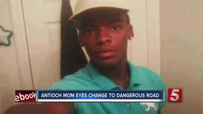Mother pushes for safer road after her son is fatally hit by car
