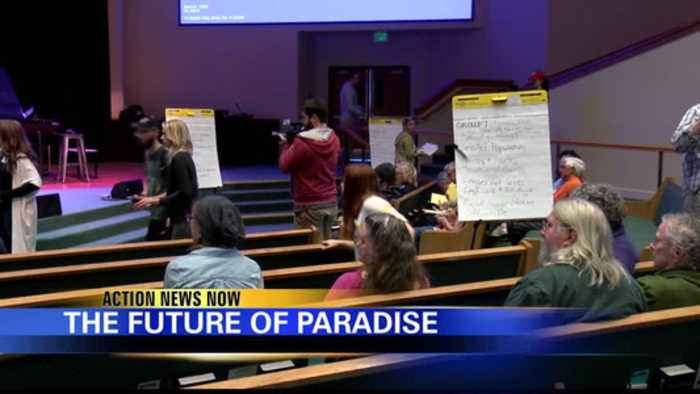 Camp Fire survivors talk about the future of Paradise