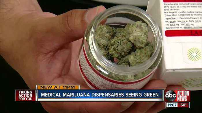 Tampa medical marijuana dispensaries now selling smokable product after ban ends