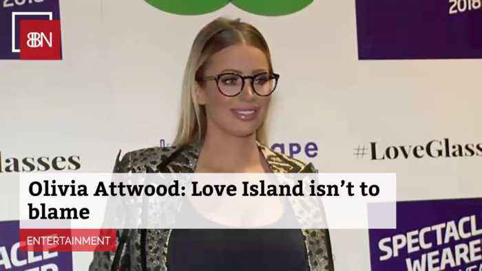British Reality Star Olivia Attwood Supports Love Island