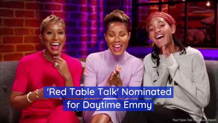 Red Table Talk Gets Nominated For An Emmy