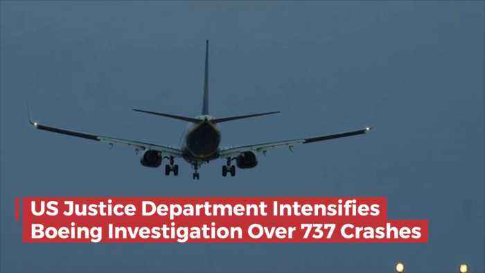 The 737 Investigation Is Now Intensifying