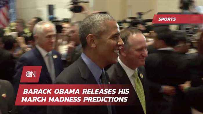 Barack Obama Gives Us His March Madness Predictions