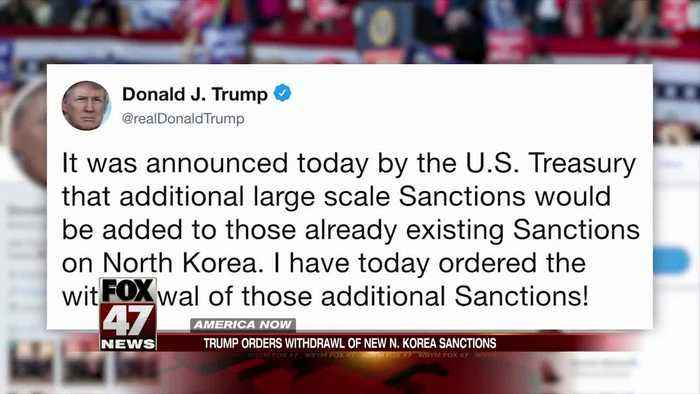 Trump sparks confusion with tweet on North Korea related sanctions