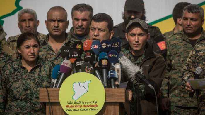 Syrian Democratic Forces Say They've Defeated ISIS in Syria
