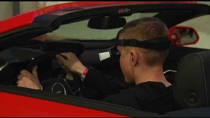 VIDEO Lehigh Valley Auto Show offers chance to take car out for virtual spin