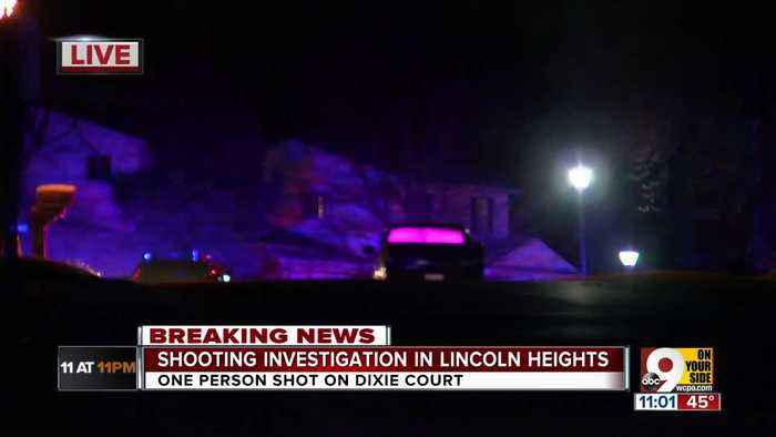 One person shot in Lincoln Heights