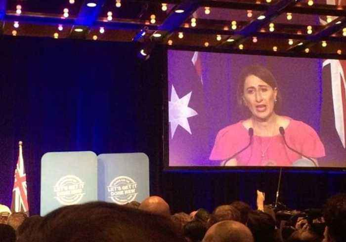 Gladys Berejiklian Makes Victory Speech as NSW's First Elected Female Premier