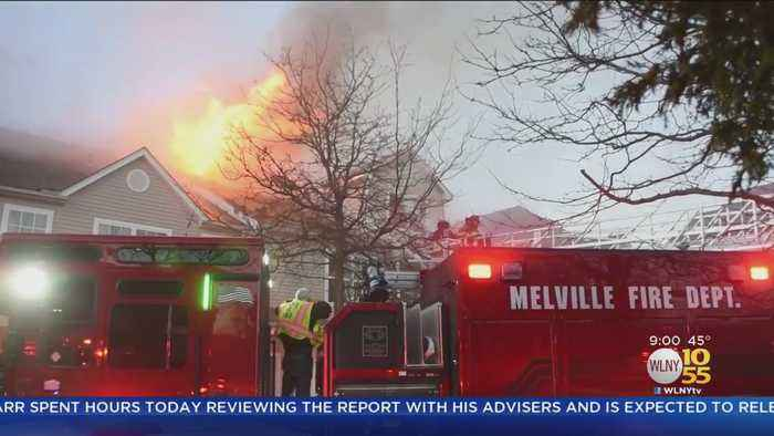 Melville Fire Leaves 100 People Displaced