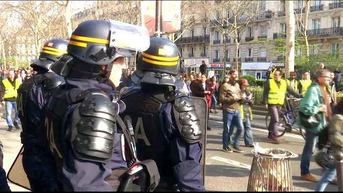 France: Security in Paris tightened amid fears of further rioting