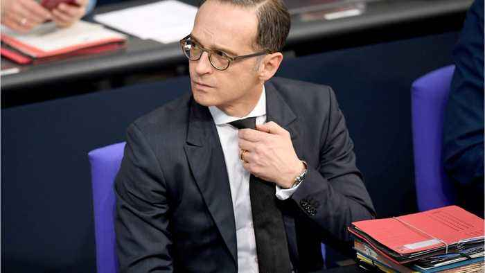 Germany's Heiko Maas Still Hopes For A Brexit Deal