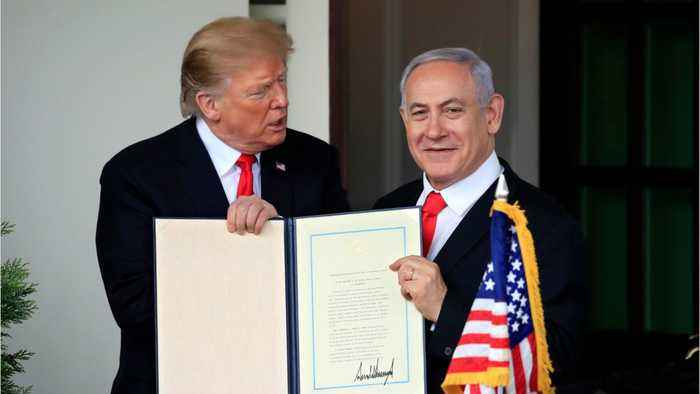 Trump Recognizes Disputed Golan Heights As Israeli Territory