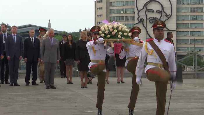 Prince Charles and Camillan become first UK royals in Cuba since 1959