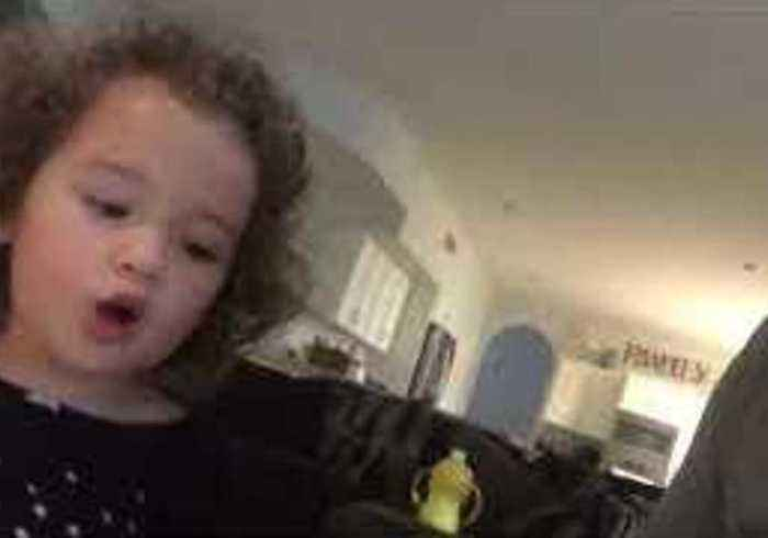 #MarchSadness: Little Girl Is Done With March Madness Before Ball Is Thrown In