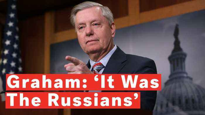 Watch: Sen. Graham On Mueller Report Says 'It Was The Russians' And Not 'Some 300-Pound Guy' Hacking The DNC