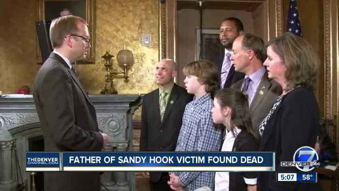 Father of Sandy Hook shooting victim dead by apparent suicide, highlighting life-long trauma
