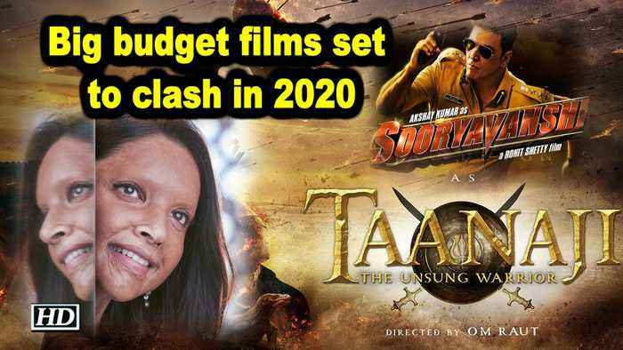 Big budget films set to clash in 2020
