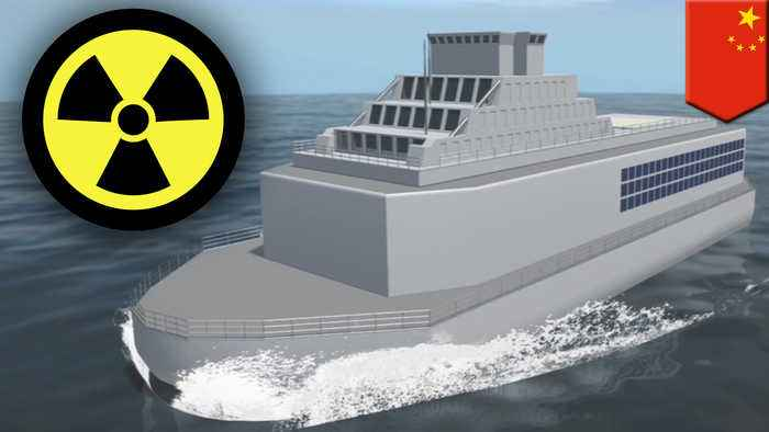 China begins construction of floating nuclear power plants