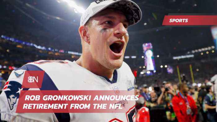 The Gronk Is Retiring
