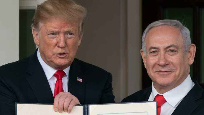 Syria Furious At Trump's Proclamation That Golan Heights Belong To Israel