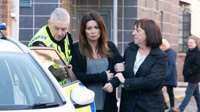 Corrie Soap Scoop! Carla is arrested