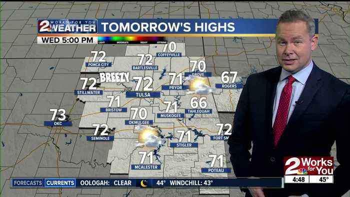 2 Work for You Tuesday Morning Forecast