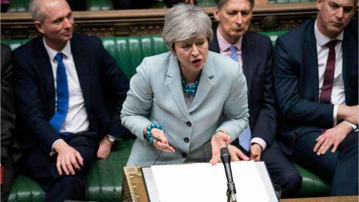 UK's May To Meet Her Lawmakers As Resignation Talks Swirl