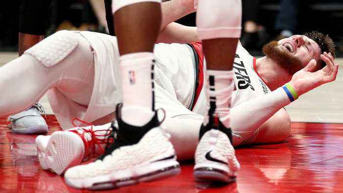 What Does Jusuf Nurkić's Injury Mean for Portland's Playoff Outlook?