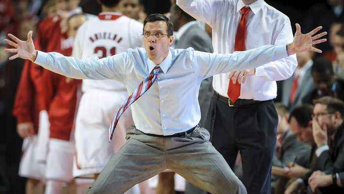 Nebraska Fires Men's Basketball Coach Tim Miles