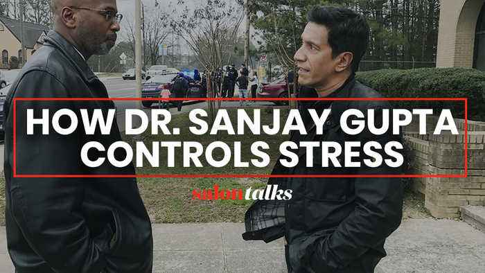 Reducing stress starts with finding one activity you can control, says Dr. Sanjay Gupta