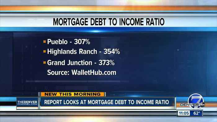 Report looks at mortgage debt to income ratio