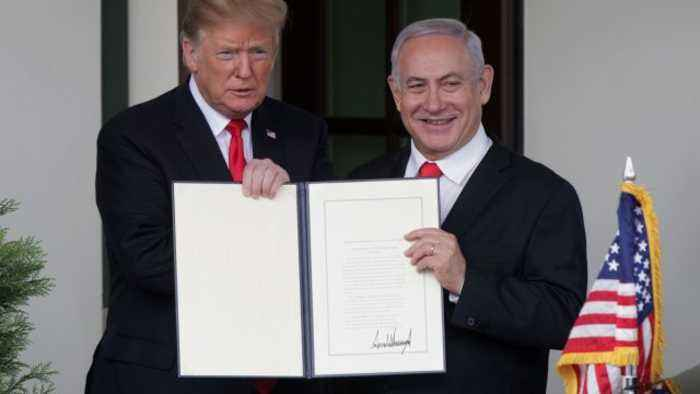 US-Israel History Laid Groundwork for Trump's Israel Policy