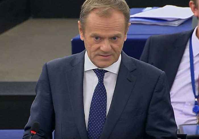 UK Cannot 'Betray' Millions Who Signed Anti-Brexit Petition, Says Tusk