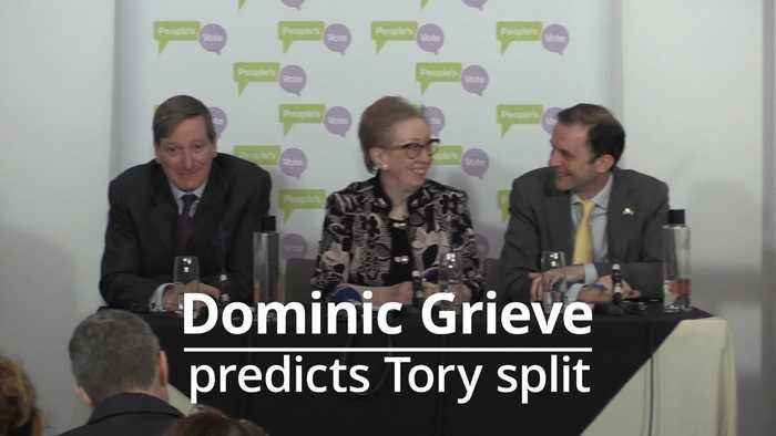 Dominic Grieve: Tory Party will split if Brexiteers unpick Theresa May's deal after she resigns