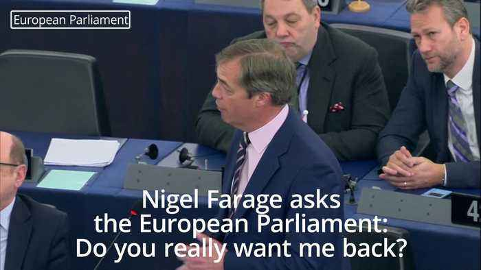 Nigel Farage to EU leaders: Do you really want be back in this place?