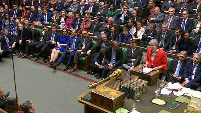 Around 40 Lawmakers Switch to Support PM May's Brexit Deal