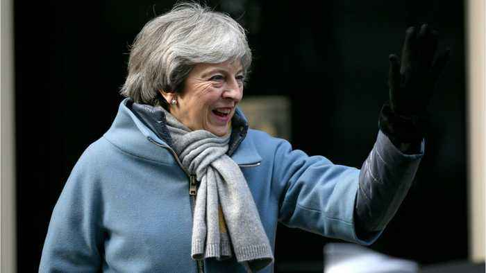 UK PM May Scrambles For Delay