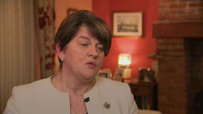 Arlene Foster: DUP cannot sign up to PM's Brexit deal