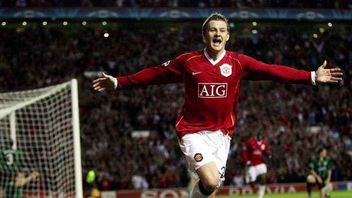 Ole Gunnar Solskjær in pictures