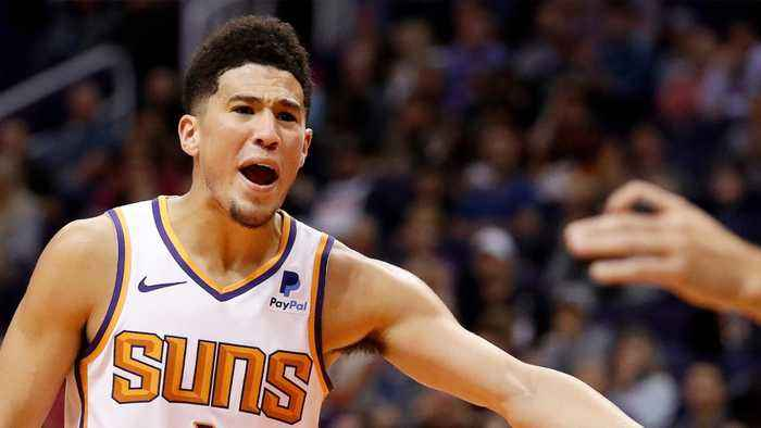 Devin Booker Joins Short List Of Scoring 50 Plus Points In Back-To-Back Games