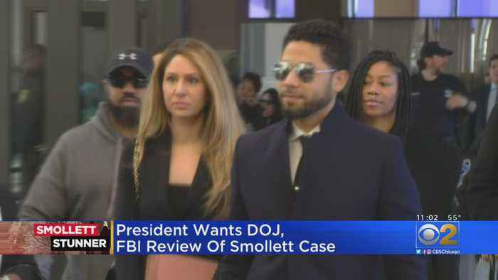 Trump Seeks FBI, DOJ Probe Of Smollett Case