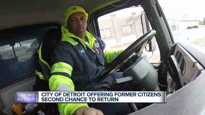 Former prisoners offered a second chance as returning citizens in Detroit