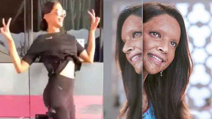Deepika Padukone's EPIC REACTION To The Response Of Chhapaak's First Look